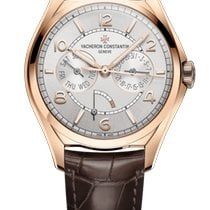 Vacheron Constantin Rose gold Automatic Silver 40mm new Fiftysix