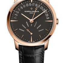 Vacheron Constantin Patrimony Rose gold 42.5mm Brown United States of America, Florida, Sunny Isles Beach
