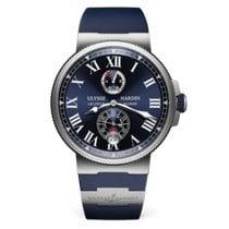 Ulysse Nardin Marine Chronometer Manufacture 1183-126-3/43 Neu Stahl 43mm Automatik