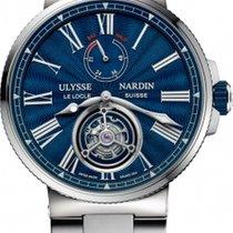 Ulysse Nardin Marine Tourbillon 1283-181-7M/E3 2020 новые