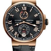 Ulysse Nardin Marine Chronometer Manufacture Rose gold 43mm Black Roman numerals United States of America, Florida, Sunny Isles Beach