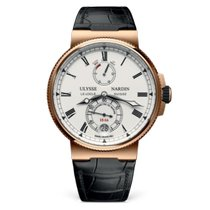 Ulysse Nardin Marine Chronometer Manufacture 1186-126/E0 New Rose gold 43mm Automatic