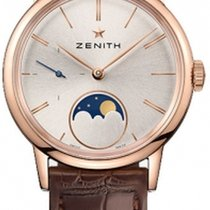 Zenith Rose gold Automatic Silver 33mm new Elite Ultra Thin