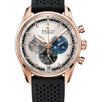 Zenith El Primero Chronomaster Rose gold 42mm Silver United States of America, Florida, Sunny Isles Beach