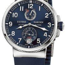 Ulysse Nardin 1183-126-3/63 Acier 2020 Marine Chronometer Manufacture 43mm nouveau