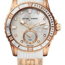 Ulysse Nardin Lady Diver 3202-190-3C/10.10 New Rose gold 40mm Automatic United States of America, Florida, Sunny Isles Beach