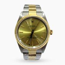 Rolex Oyster Perpetual 14233 Ottimo Oro/Acciaio 34mm Automatico