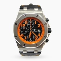 愛彼 Royal Oak Offshore Chronograph Volcano 26170ST.OO.D101CR.01 非常好 鋼 42mm 自動發條