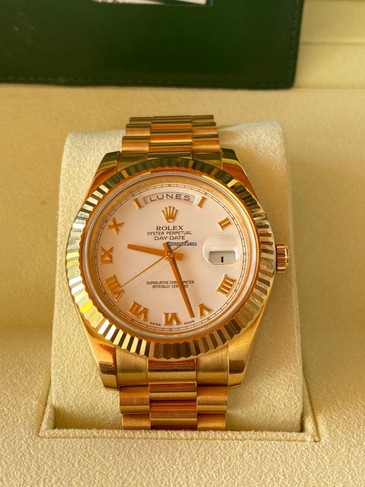 Rolex (ロレックス) デイデイト II 218238 2010 新品