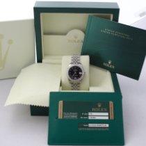Rolex Lady-Datejust Acero y oro 31mm Negro Romanos