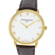 Frederique Constant Slimline Gold/Steel 39mm White Roman numerals United States of America, New York, New York