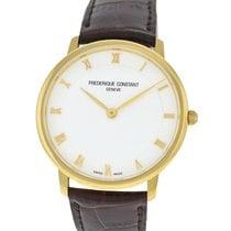 Frederique Constant Slimline new Quartz Watch with original box and original papers FC-200RS5S35