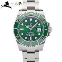 Rolex Submariner Date usados 40mm Verde Acero