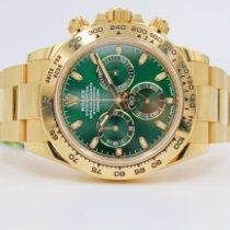 Rolex Daytona Oro amarillo 40mm Verde Sin cifras