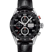 TAG Heuer Carrera Calibre 16 Steel 43mm Black Arabic numerals United States of America, Pennsylvania, Philadelphia