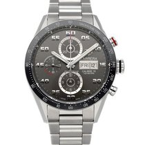 TAG Heuer Carrera Calibre 16 Steel 43mm Grey Arabic numerals United States of America, Pennsylvania, Philadelphia