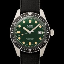Oris Divers Sixty Five Steel 42mm Green United States of America, California, Burlingame