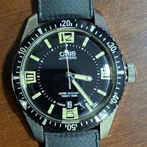 Oris Divers Sixty Five Zeljezo 40mm Crn Arapski brojevi