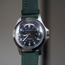 Hamilton Khaki Field King Zeljezo 40mm Crn