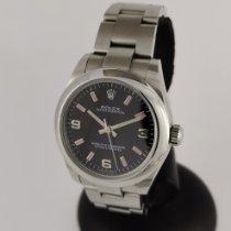 Rolex Oyster Perpetual 31 Acier 31mm Noir Arabes France, Paris