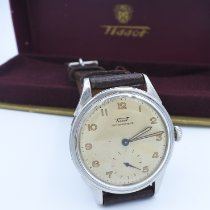 Tissot Heritage pre-owned 35mm White Leather