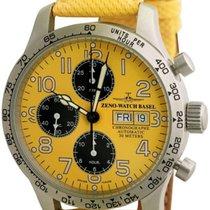 Zeno-Watch Basel NC Pilot 9557TVDD-2T-b91 new