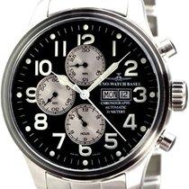 Zeno-Watch Basel OS Pilot 8557TVDD-b1M nou