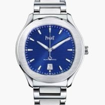 Piaget Polo S Steel 42mm Blue No numerals United States of America, Texas, Houston