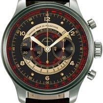 Zeno-Watch Basel Acier 47mm Remontage automatique 8560BH-f1-Puls nouveau