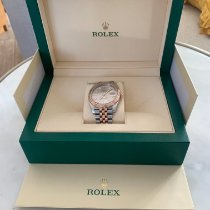 Rolex Datejust II usados 41mm Marrón Fecha Acero y oro