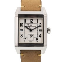Jaeger-LeCoultre Reverso Squadra Hometime 230.8.77 Very good Steel 35mm Automatic