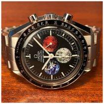 Omega Speedmaster Professional Moonwatch folosit 42mm Negru Cronograf Otel
