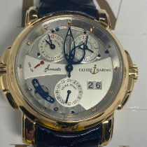 Ulysse Nardin Sonata neu Automatik Uhr mit Original-Box und Original-Papieren 676-88