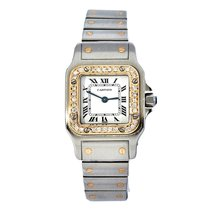 Cartier Santos Galbée Gold/Steel United States of America, New York, New York