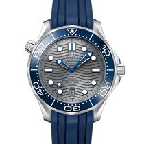 Omega Seamaster Diver 300 M Steel 42mm Grey No numerals