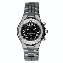 Technomarine TechnoDiamond Cerâmica 42mm Preto Árabes