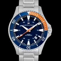 Hamilton Khaki Navy Scuba Steel 40mm Blue United States of America, California, Burlingame