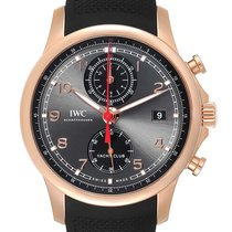 IWC IW390209 Roségoud Portuguese Yacht Club Chronograph 45.4mm tweedehands