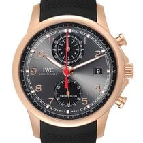IWC Portuguese Yacht Club Chronograph Rose gold 45.4mm Grey Arabic numerals United States of America, Georgia, Atlanta