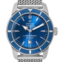 Breitling Superocean Héritage 46 Steel 42mm Blue United States of America, Georgia, Atlanta