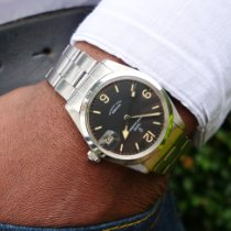 Tudor pre-owned Automatic 34mm Black Plexiglass