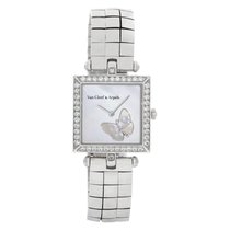 Van Cleef & Arpels White gold 25mm Quartz HH22989 pre-owned United States of America, Florida, Surfside