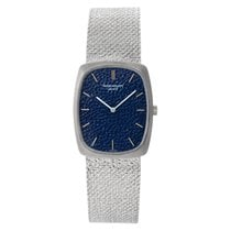 Patek Philippe White gold Manual winding Blue No numerals 26mm pre-owned Golden Ellipse