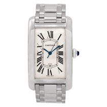 Cartier Tank Américaine White gold 26mm White Roman numerals United States of America, Florida, Surfside