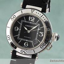 Cartier Pasha Seatimer Zeljezo 40mm Crn