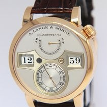 A. Lange & Söhne Zeitwerk Rose gold 41.9mm Silver United States of America, Florida, 33431