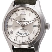 IWC Pilot Spitfire UTC Steel 39mm Silver United States of America, Texas, Austin