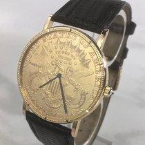 Corum Gelbgold 35mm Automatik Coin Watch gebraucht Deutschland, Essen