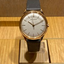 Jaeger-LeCoultre Or rose 35mm flat 18K pink gold vintage occasion France, Paris