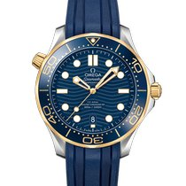 Omega Seamaster Diver 300 M Gold/Steel 42mm Blue No numerals United States of America, Pennsylvania, Philadelphia